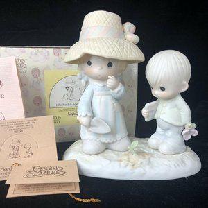 Precious Moment Figurine Picked Very Special Mom